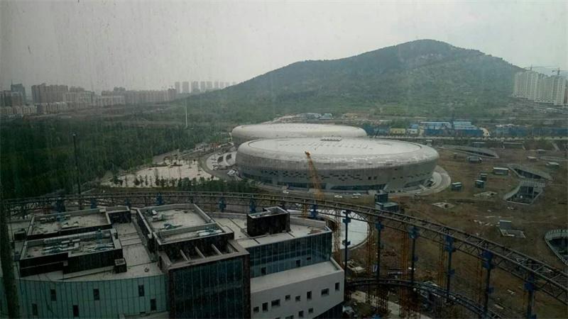 枣庄市民文体中心广电大楼